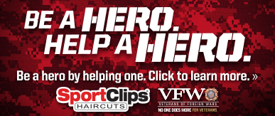 Sport Clips Haircuts of Ames​ Help a Hero Campaign