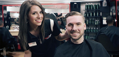 Sport Clips Haircuts of Ames​ stylist hair cut